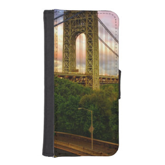 View looking South - West from Manhattan iPhone SE/5/5s Wallet Case