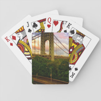 View looking South - West from Manhattan Playing Cards