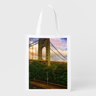 View looking South - West from Manhattan Reusable Grocery Bag