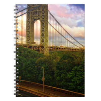 View looking South - West from Manhattan Spiral Note Book