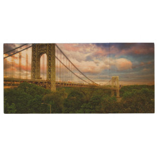 View looking South - West from Manhattan Wood USB 2.0 Flash Drive