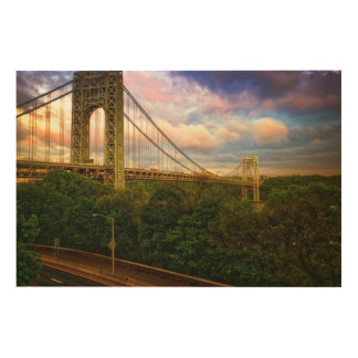 View looking South - West from Manhattan Wood Wall Decor