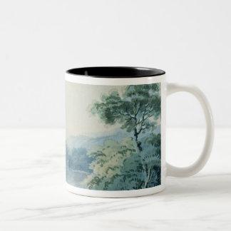 View near Virginia, County Cavan Two-Tone Coffee Mug