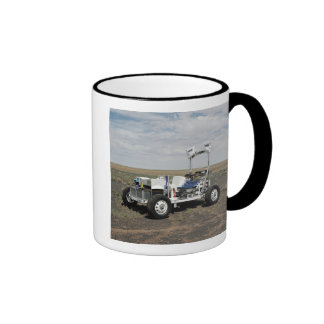 View of a 1-G Lunar Rover Vehicle Ringer Mug