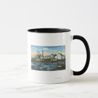 View of a Fish Hatchery, Lobster Rearing Mug