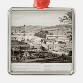 View of a French Phalanstery Christmas Ornament