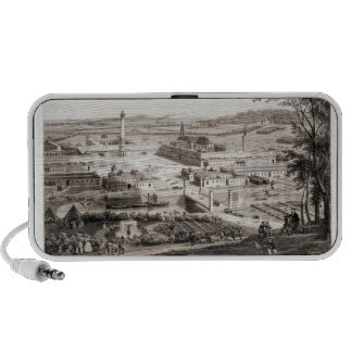 View of a French Phalanstery Travel Speaker