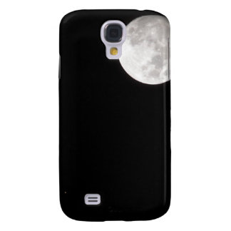View of a full Moon, also shows Mars Galaxy S4 Case