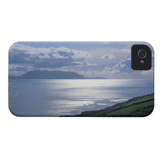 view of a grassy slope by the sea Case-Mate iPhone 4 case