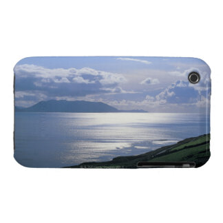 view of a grassy slope by the sea iPhone 3 Case-Mate cases