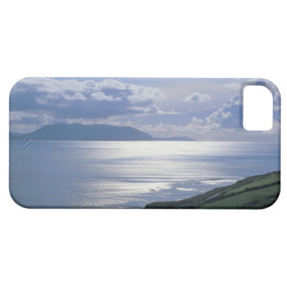 view of a grassy slope by the sea iPhone 5 cases