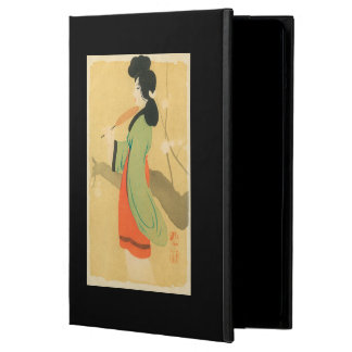 View of a Japanese Woman in ParisParis, France Case For iPad Air