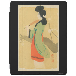 View of a Japanese Woman in ParisParis, France iPad Cover
