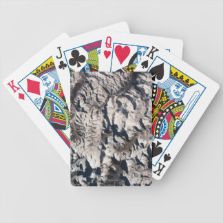 View of a Mountain Range Bicycle Playing Cards