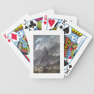 View of a Schloss between Bolzano and Trent, (w/c) Bicycle Playing Cards