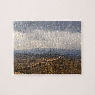View of a section of the Great Wall of China Jigsaw Puzzle