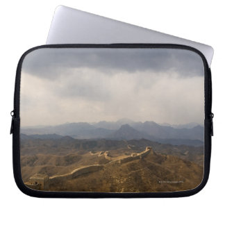 View of a section of the Great Wall of China Laptop Sleeve