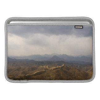 View of a section of the Great Wall of China MacBook Sleeve