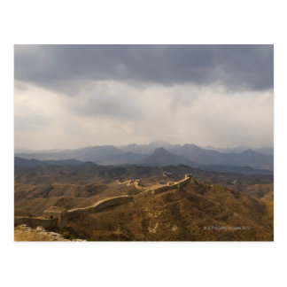 View of a section of the Great Wall of China Postcard
