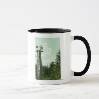 View of a Sequoia Wind MillEureka, CA Mug