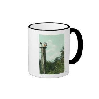 View of a Sequoia Wind MillEureka, CA Coffee Mug