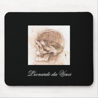 View of a Skull by Leonardo Da Vinci circa 1489 Mouse Pad