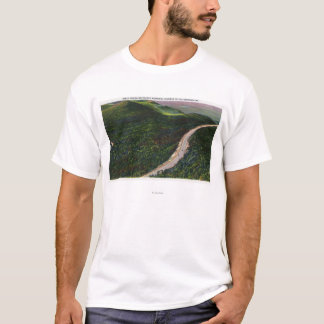 View of a Steep Grade on Memorial Hwy T-Shirt