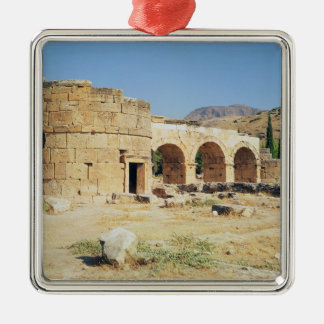 View of a triumphal arch christmas ornament