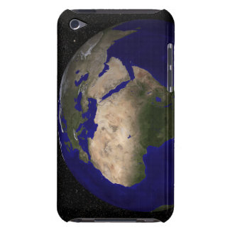 View of Africa, Europe, the Middle East, and In iPod Touch Case