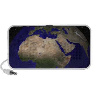 View of Africa, Europe, the Middle East, and In Travelling Speakers