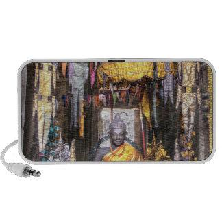 View of altar area inside Buddhist temple, Travel Speaker