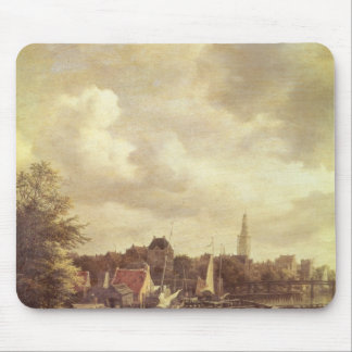 View of Amsterdam Mouse Mat