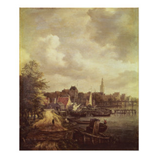 View of Amsterdam Print