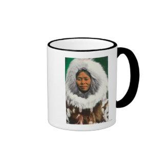 View of an Eskimo Beauty Ringer Mug