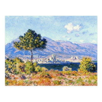 View of Antibes from the Plateau Notre-Dame Postcard
