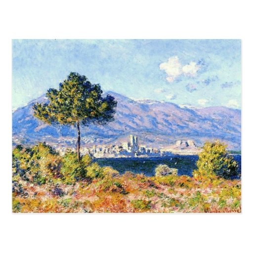 View of Antibes from the Plateau Notre-Dame Post Card