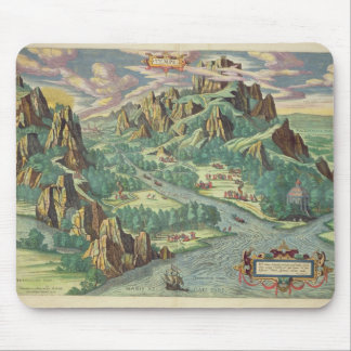 View of antique Thessaly from the 'Atlas Mouse Mat