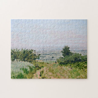 View of Argenteuil Monet Fine Art Jigsaw Puzzle