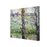 View of Arles, 1889 Gallery Wrap Canvas