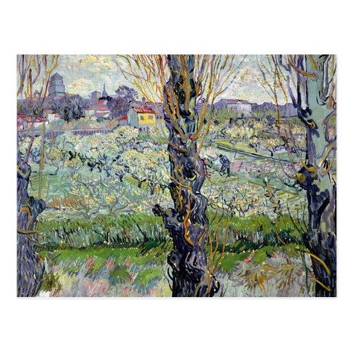 View of Arles, 1889 Postcard