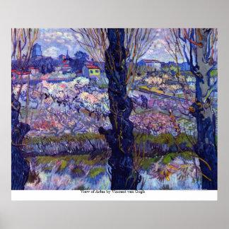 View of Arles by Vincent van Gogh Print
