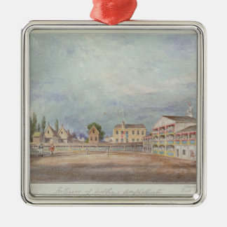 View of Astley's Amphitheatre, 1777 Christmas Ornament