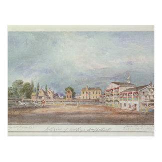View of Astley's Amphitheatre, 1777 Postcard