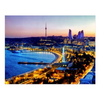 View of Baku Postcard