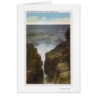 View of Bald Head Cliffs, the Gorge Greeting Card