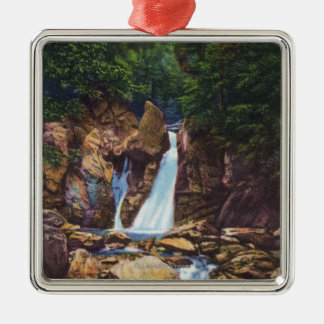 View of Bash-Bish Falls near Great Barrington Christmas Ornament