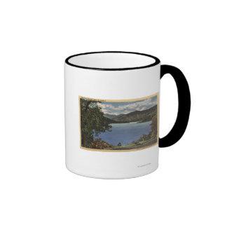 View of Beautiful Shasta Lake Coffee Mugs