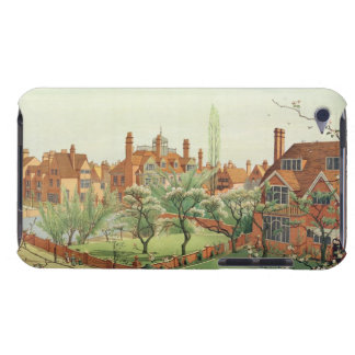 View of Bedford Park, 1882 (colour litho) 2 Barely There iPod Cases