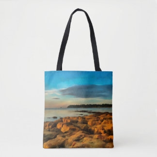 View of Bembridge from Saint Helen's Bay Tote Bag
