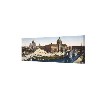 View of Berlin at the turn of the century Canvas Print